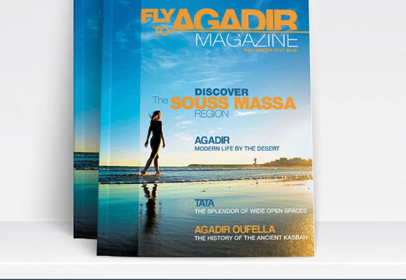 LE CRT-SM SORT SON MAGAZINE FLY TO AGADIR