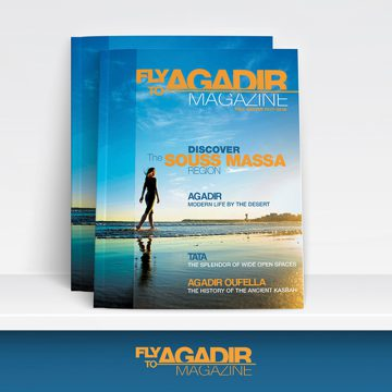 LE CRT D'AGADIR SM SORT SON MAGAZINE FLY TO AGADIR
