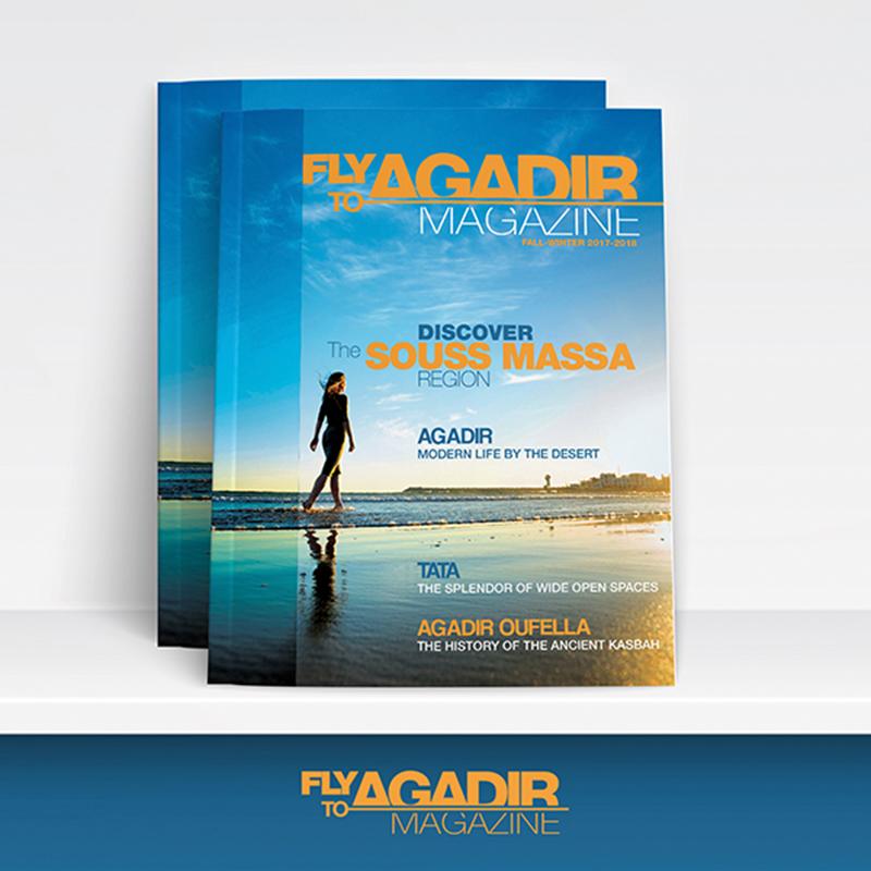 LE CRT D'AGADIR SM SORT SON MAGAZINE FLY TO AGADIR