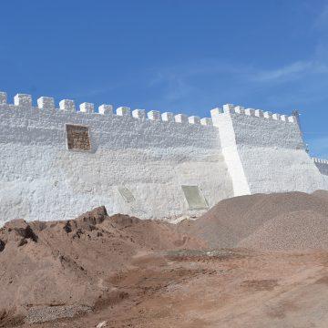 La Kasbah d'Agadir Oufella s'habille de blanc
